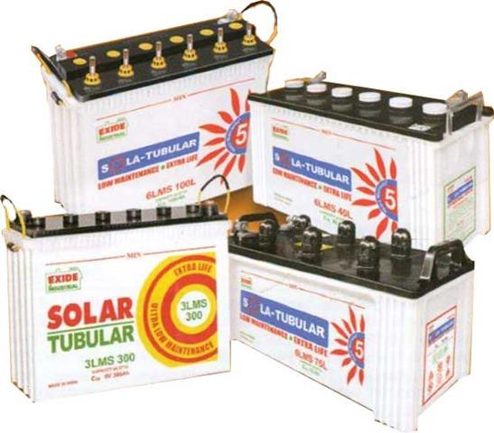 xide has very wide range of Solar Tubular Battery models in its products line-up. Now many of our blog readers are posting queries about Exide Solar Tubular Batteries.  Many people have doubts about using Exide solar tubular batteries with  - by Golden Electric Power N Solar, Chennai