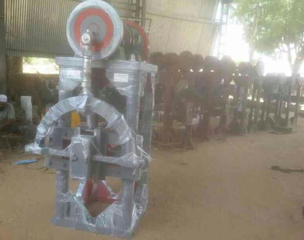 we are the manufacturers of forging power hammer machine for blacksmith since 1960.  - by Bharat Steel Works, Dehgam