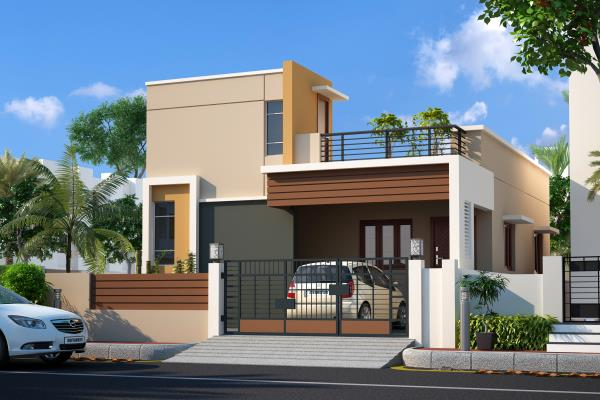 Ganesh Garden Individual House  - by Jaayam Promoters, Thiruvallur