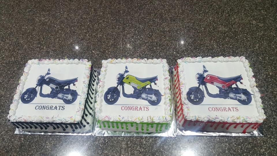 an Ice Cream Cake is a cake that incorporates ice cream. a popular form is a Three-Layer Cake, with a layer of ice cream between two layers of cake. for more details, or to place an order, http://www.nimscakencraft.com/ - by Nim's Cake & Craft, Pune