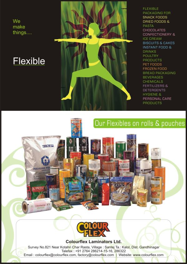 Flexible Packaging Rolls & Pouches, Standup Bag, Zipper Bag - by Colour Flex Laminators Limited, Santej