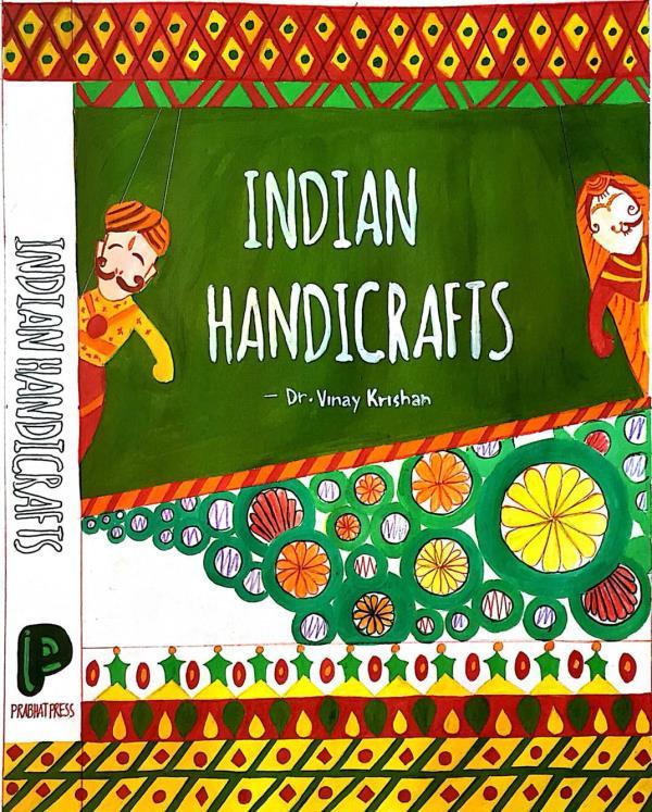 Handy craft book cover - by Disha Pinto, Mumbai Suburban