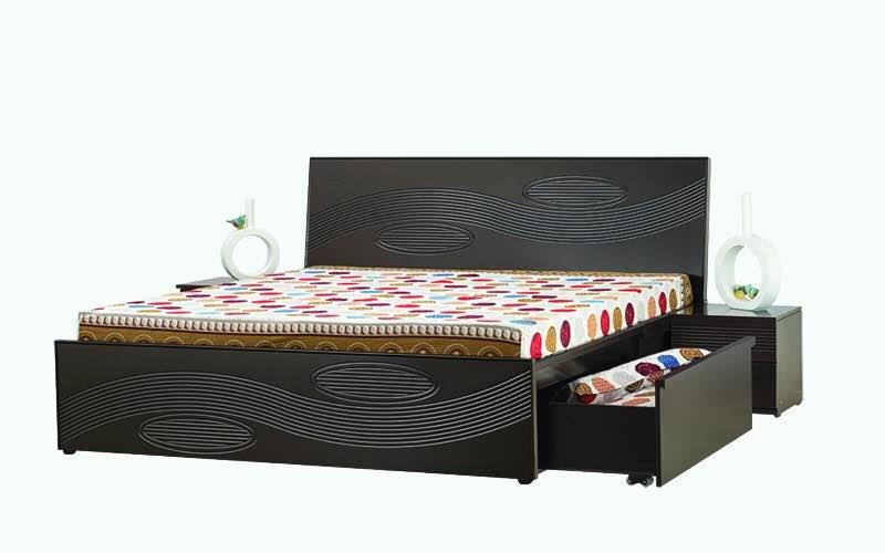 Double Cot King size with storage drawers.. INR 38000 - by Modern Living, Hyderabad