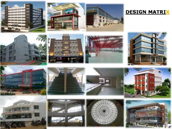 Architectural designs for Commercial Apartments in Sadaashivanagar With all kinds of designs will available. - by Design Matrix, Bengaluru