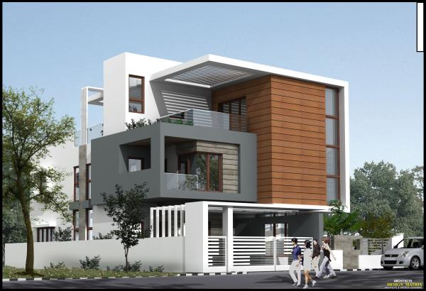 Luxurious Villas Architectural plans available at Chandra Layout  - by Design Matrix, Bengaluru