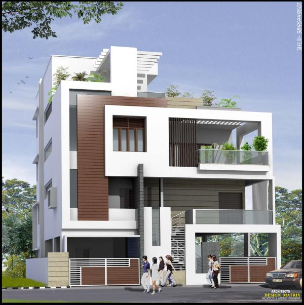 Residential Building plans at Chandra Layout - by Design Matrix, Bengaluru