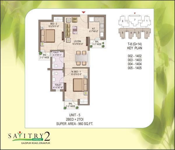 N.K Sharma Group of company .Savitry Green! 2/3 BHK Luxury Apartment 26Lac Onwards - by N.K Sharma Group Of Companies, Zirakpur