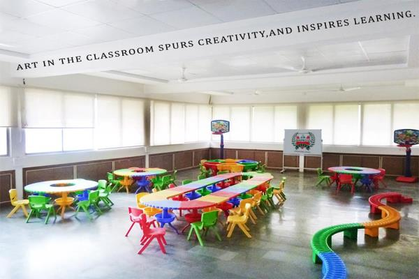 Art in the classroom spurs creativity and inspires learning.  ADMISSIONS OPEN!!! NURSERY TO IV FOR ONLINE ADMISSIONS http://asmempros.org/online-admissions.php  - by ASM Group of Institute, Pune