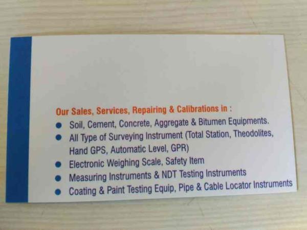 in Haridarshan Instru- Lab we are providing following services  - by HARIDARSHAN INSTRU-LAB, Ahmedabad