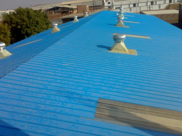"The ""Colour Coated Roofing Sheets"" products is available in different profiles, which are ideal for application in both roof & wall, suited both for industrial and residential application. - by Visakha Roofing Industries 