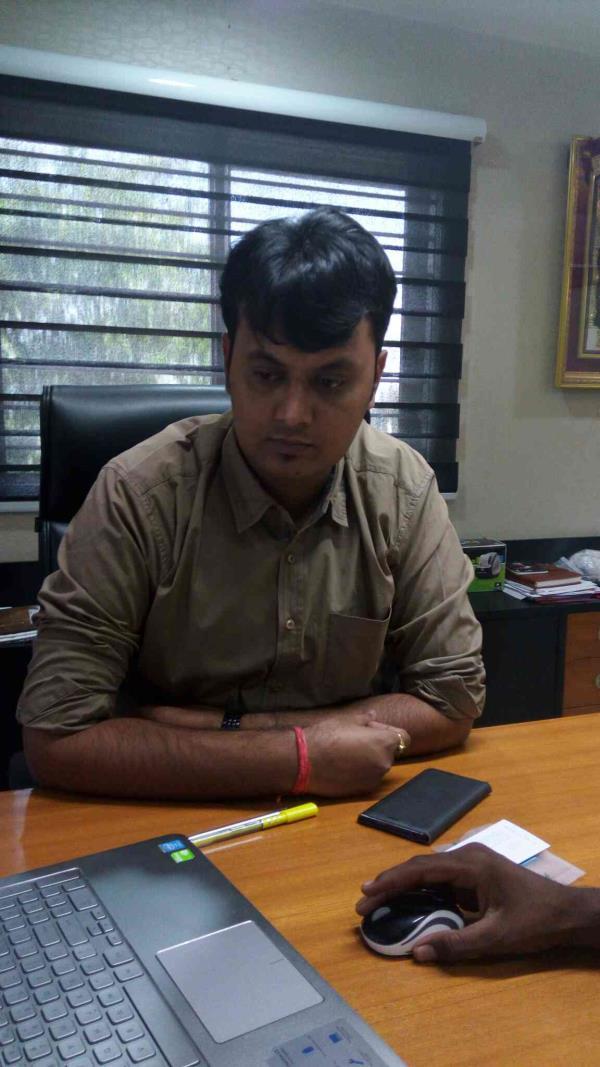 Meet Mr Pratik Panchal , the proprietor of the Ginza Machinery - by Ginza Machinery, Ahmedabad