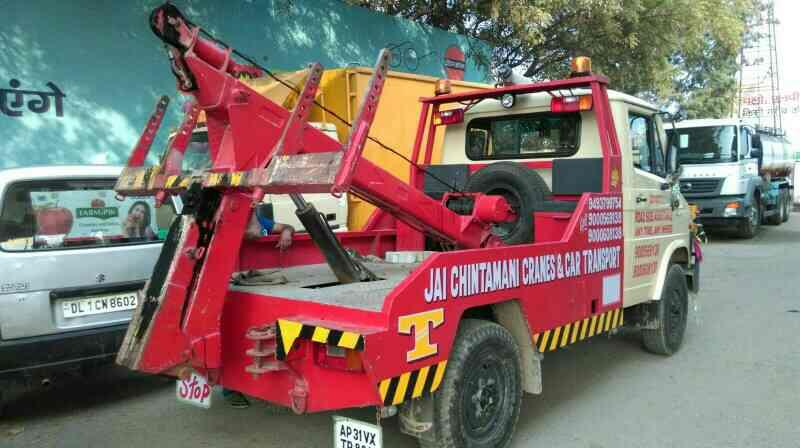 Jai Chintamani Cranes in Delhi  qe provides all types of car breakdown services in delhi - by Jai Chintamani Cranes & Car Movers, New Delhi