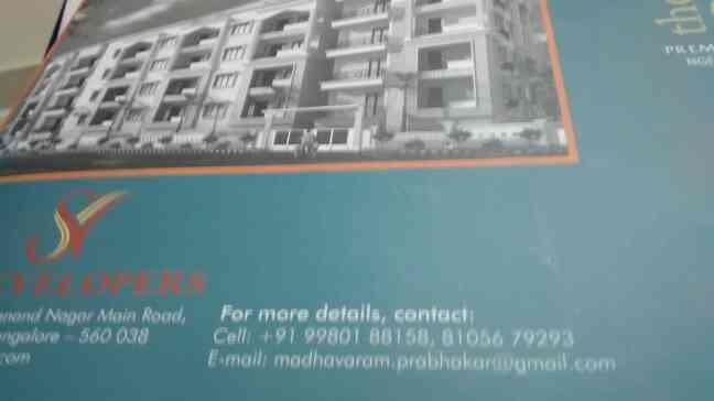 2bhk flat for sale in kasturinagar - by Ornate, Bengaluru