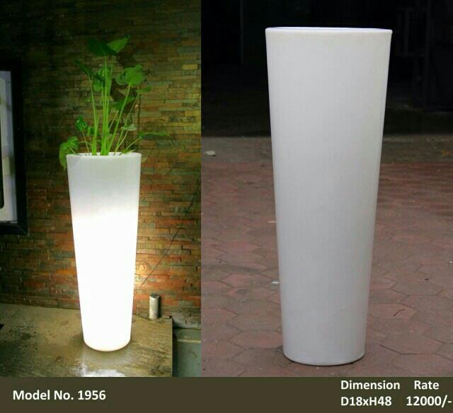 LED PLANTERS  - by Great Indoors, Jaipur