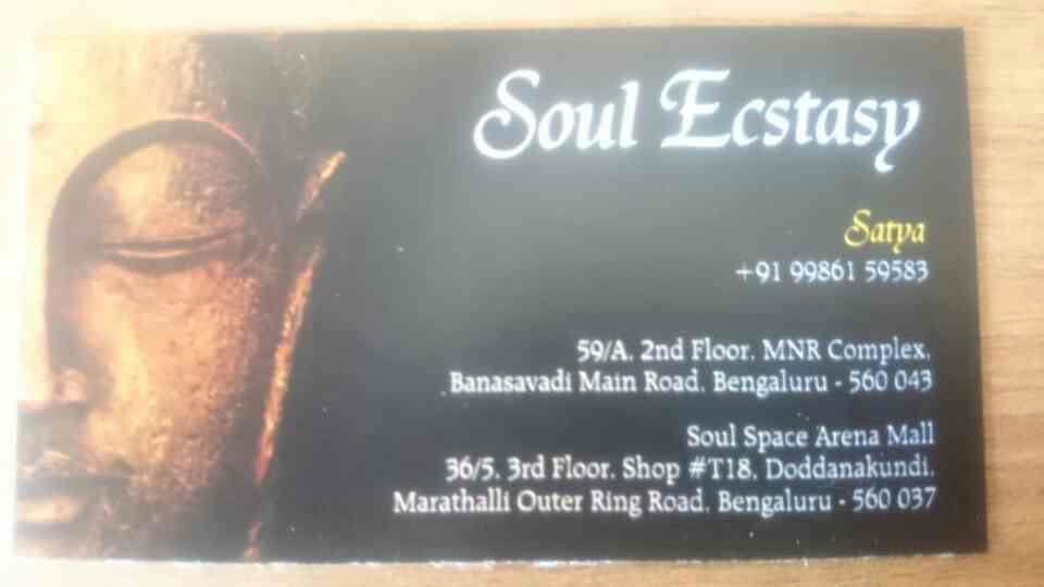 massage center in banaswadi  - by Soul Ecstasy, Bengaluru