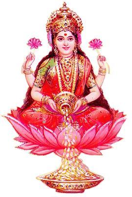 Mahalakshmi Foundation Lakshmi Hindu Goddess of Wealth, Fortune, Love and Beauty  - by SS Mahalakshmi Foundation, Bengaluru