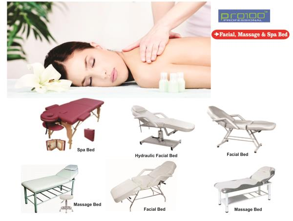 Upgrade your salon with our professional range of FACIAL MASSAGE and SPA BED . Contact us for best price. We are SUPPLIER OF FACIAL MASSAGE and SPA BED in KOLKATA - by Tridip Enterprise, Kolkata