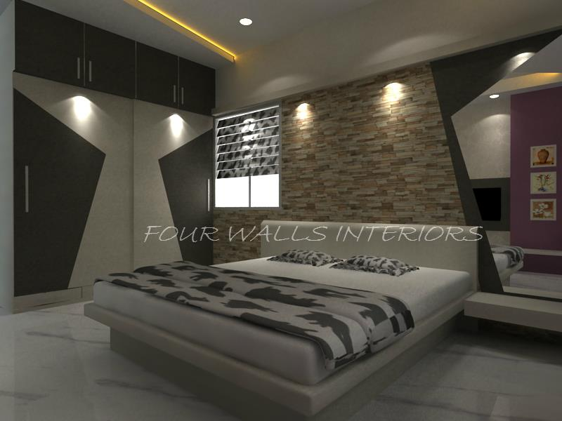 The details are not the details, they make the design.  #designs #bedrooms #interiordesigns  We Are Reachable at www.fourwallsinteriors.com - by Four Walls Interiors, Coimbatore
