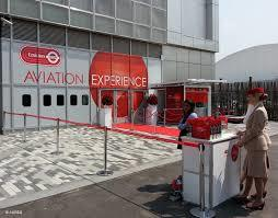 a real life flight simulation experience for some die hard fans ! we welcome you aboard the emirates flying experience center in London to have a feel of a real time flight simulation experience.  once in a lifetime opportunity not to be mi - by Emirates Aviation Experience, Greater London