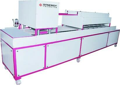 we are one of the leading manufacturer and exporters of khakhra making machine with fully automatic facilities in Ahmedabad gujarat india  - by Synergy Technics , Ahmedabad