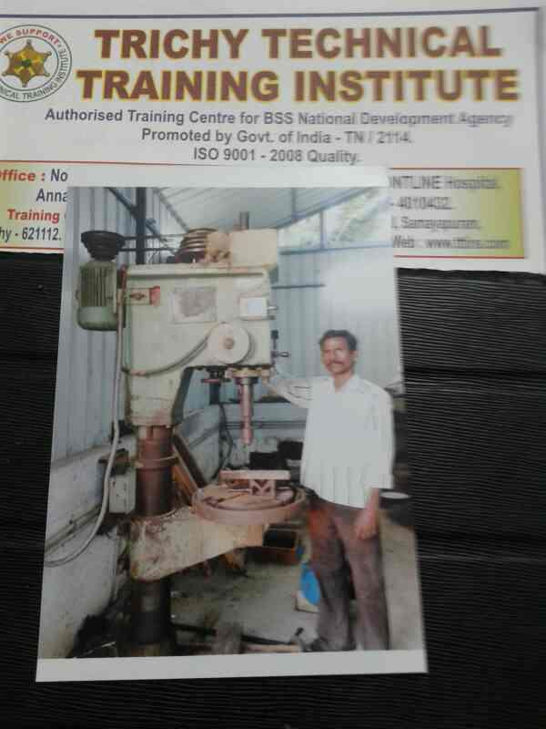 we are the best General Machinist Traning institute in Trichy  - by Trichy Technical Training Institute, trichy