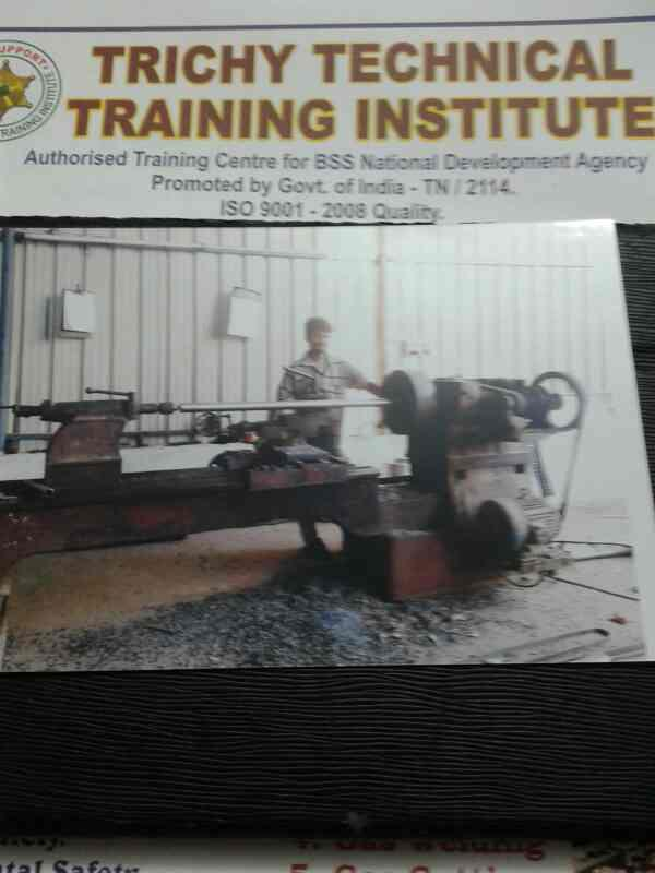 we are the Turner Institute in Trichy  - by Trichy Technical Training Institute, trichy