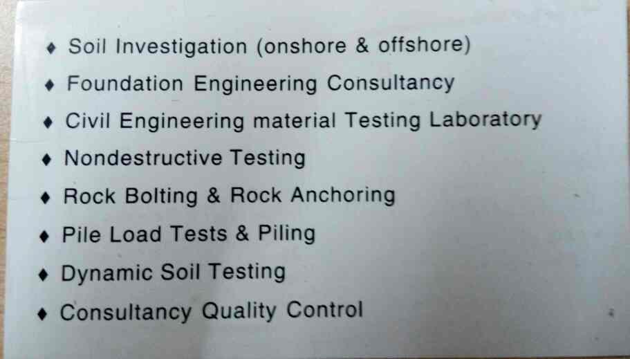 pile load testing and piling services providing in Ahmedabad and in Gujarat    - by ATEC, Ahmedabad