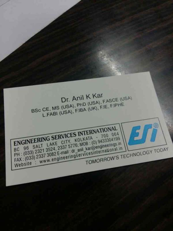 plz call us - by Engineering Services International, Kolkata