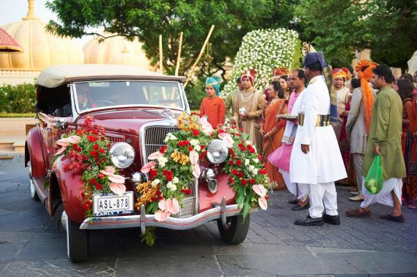 Logistics: Organize and coordinate on ground transportation for couple, family and out of town guests, as required - by Tarz Events and Entertainment, Udaipur