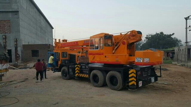 we are crane on hire in naroda.in ahmedabad. - by Khodiyar Crane, Ahmedabad