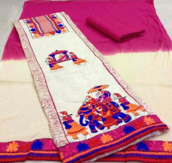 we are ledind suppliee of dress material in ahmedabad. - by Somya Fashion, Ahmedabad