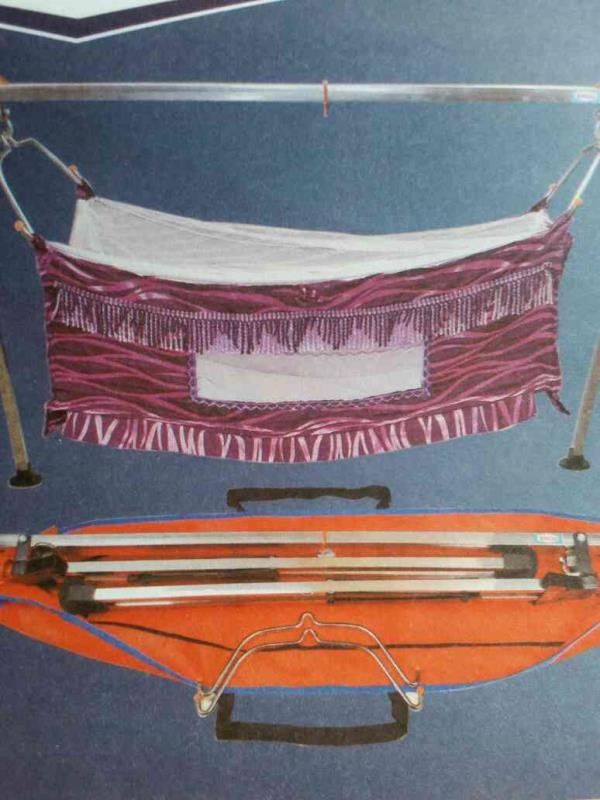 Folding Baby Cradle Manufacturers and Supplier in Rajkot-Gujarat - by Bindu Agro Industries, Rajkot