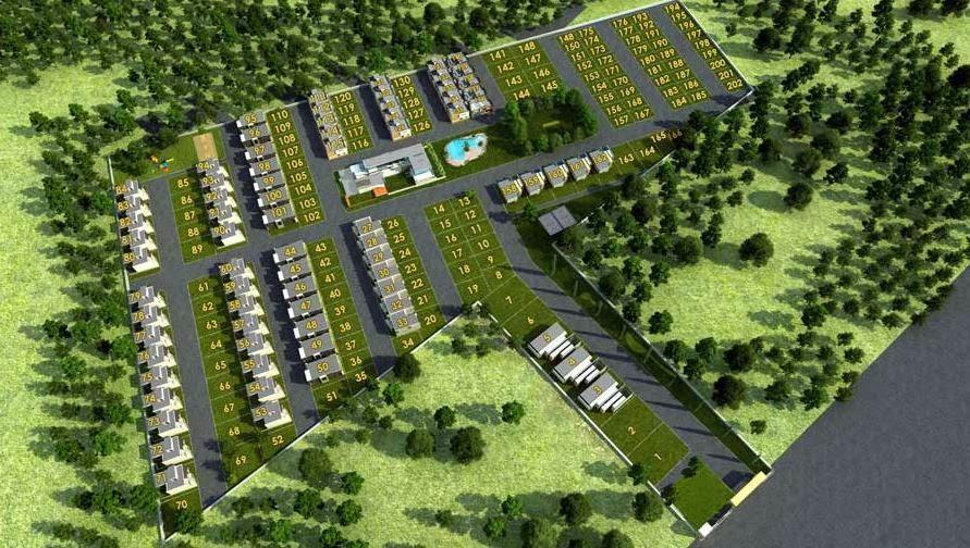 Villas Plots For Sales In North Bangalore  Le Lexuz Stoneview Villas, Yelahanka, Bangalore is Precisely planned for the Modern day city dweller, a pollution free living environment and wide open areas that offer not just the luxury of space - by Hebron Properties, Bangalore Urban