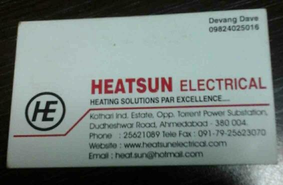 Heaters Manufacturers in India for Plastic Industries - by HEATSUN ELECTRICALS, Ahmedabad