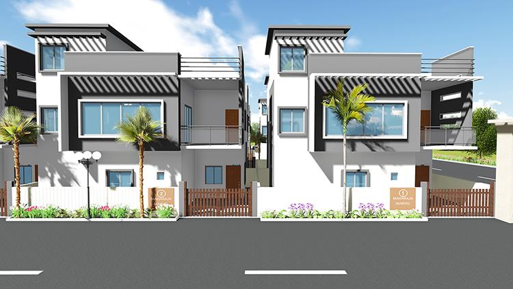 3bhk villa in south bangalore - by Cementech Infrastructure Pvt Ltd, Bangalore