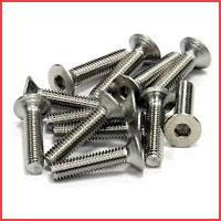 Screws We have a modern screws manufacturing section well equipped with several advanced and imported cold forging high speed Headers. All this along with their high speed thread rolling and pointing machines enables us to manufacture screw - by Surya Metal Industries, Anand