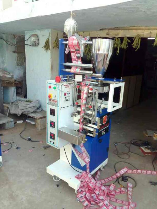 Candy's packing machine  Mechanical AFFS machine  40 pouches per minute  Easy operation  Single phase electricity  Cup filler Fully automatic  - by Value Pack Machinery, Hyderabad
