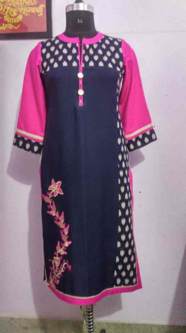 new printed kurti by kurtiishops.com in Jaipur - by Kurtiishop.com, Jaipur