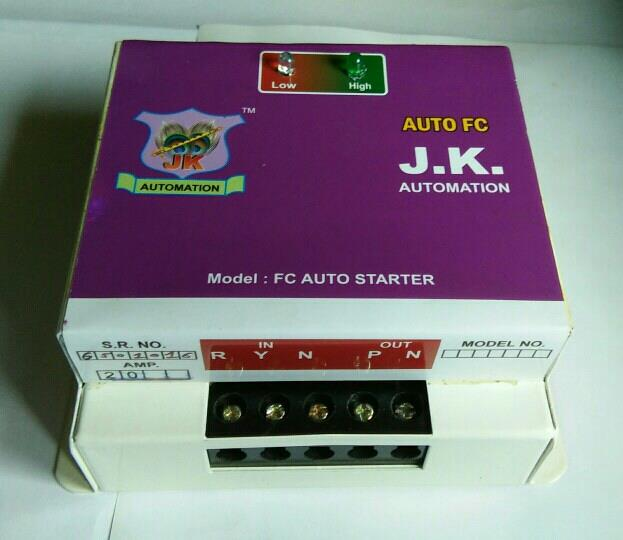 JK Automation Manufacturers and Supplier  of  AUTO STATER in Rajkot Which Use For Electric Motor On/off Like Motor Use in Agri Culture and Lighting Motor - by J K Automation, Rajkot