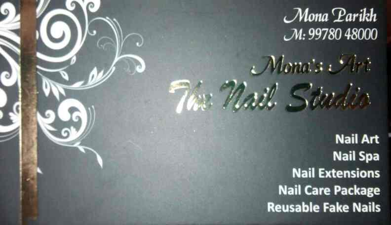 we are one of the best studio for nail arts in alkapuri Vadodara you can follow us on www.Facebook.com/monasnails - by Mona's Art The Nail Studio, Vadodara
