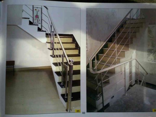 Shiv Drashti Steel Make Customize Design of Steel Railing As well offer Exclusive Design of Railing, Balustrad in Rajkot-Gujarat with Heavy Quality of Steel 202 and 304  - by Shiv Drashti Steel, Rajkot
