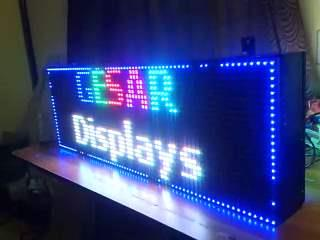 We manufacture Made in India and Assembled in India LED displays of various types suitable for variety of applications.   LED Scrolling Displays, LED Message Displays, LED Video Displays, LED Video Wall, LED Single Colour Scrolling message  - by GESAR Displays Pvt Ltd, Vapi