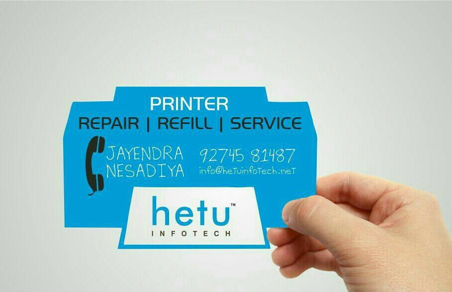 Printer Repair | Refill | Service - by HETU Infotech, Ahmedabad