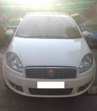FEAT LINEA MULTIJET DYNAMIC:MODEL 03/2012, KM 90995, COLOUR WHITE, FUEL DIESEL, PRICE 500000 NEG. - by Nani Used Cars, Hyderabad
