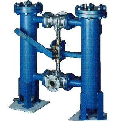 Duplex Type Strainers Manufacturer in Chennai  We are one of the highly established designers, manufacturers and suppliers of Duplex Type Strainers, Duplex Basket Strainer, Duplex Filters Strainer and Hayward Duplex Strainer, which are used wherever continuous operation is required and flow is not interrupted for cleaning of filter element. It consists of two filtration chambers, each rated for 100% capacity connected in parallel by means of 3 way ball valve. Diversion of fluid flows without interruption of flow with manual change over valve or automatically operated. Its higher flow rates handled by disc type change over system possess large filtration area for raw water/sea water, etc. It can be fabricated in casting/fabrication as per requirement and can also be available with steam jacketing for fluid like (L.D.O./H.F.O./Bitumen, etc.). We offer a wide range of Duplex Types Strainer filtration from 2 micron to 500 microns. Flowtech Duplex Type Strainers are highly economic, handy and easily accessible in the market. We have highly experienced professionals, who are master of Strainers manufacturing industry.