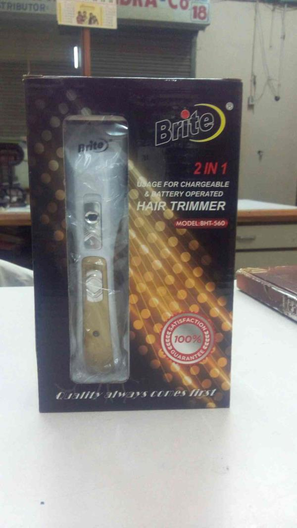 Hair Trimmer for sale in Gujarat...  Brite 2 in 1 Trimmer - by Much More Dealz, Ahmedabad