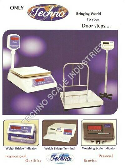 plz contact for weighing scales manufacturer and exporters from india   www.technoweighbridge.com - by Techno Scale Industries , Ahmedabad