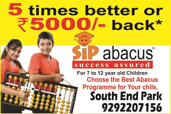 we are best among all - by SIP Abacus & Brain Gym, Hyderabad