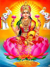 Gaja Lakshmi Temple in Bangalore International Airport Road. Lakshmi Hindu Goddess of Wealth, Fortune, Love And Beauty.  - by SS Mahalakshmi Foundation, Bengaluru