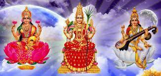 Dhanya Lakshmi Temple in Karnataka. Lakshmi is a Form of Mother Goddess or Shakti.  - by SS Mahalakshmi Foundation, Bengaluru
